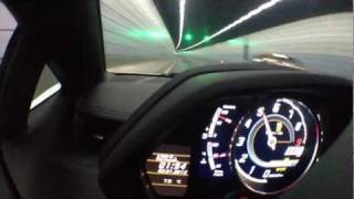 Lamborghini LP700-4 Aventador White China Shanghai Tunnel Sound A
