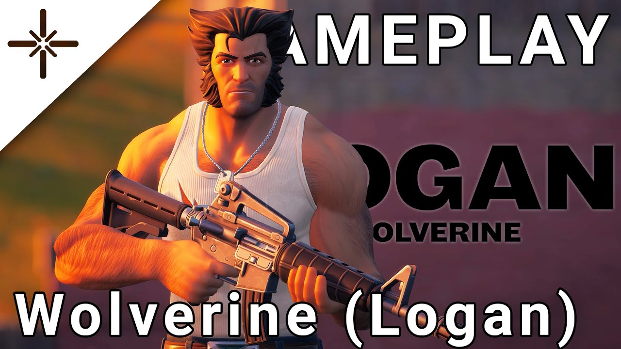 Wolverine (Logan Variant) Fortnite Outfit/Skin Gameplay