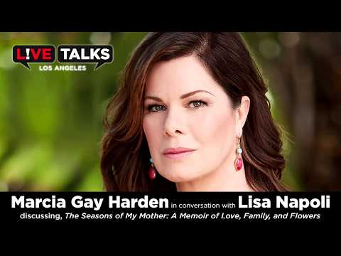 Marcia Gay Harden in conversation with Lisa Napoli at Live Talks Los Angeles