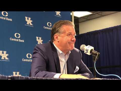Kentucky coach John Calipari - IUP Postgame