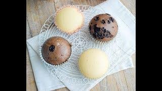 簡易蒸蛋糕-兩種口味食譜  簡單做法 |Simple Steamed Cake  (Two Flavours) Recipe
