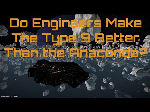 Do Engineers Make The Type 9 a Better Trader Than The Anaconda?
