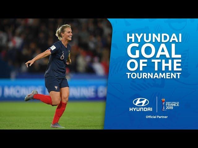 Amandine HENRY – HYUNDAI GOAL OF THE TOURNAMENT – NOMINEE