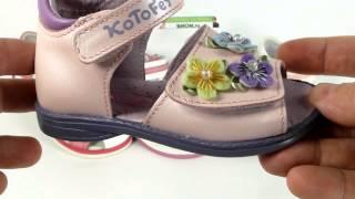 Видео-обзор. Детские сандалии Капика и Котофей