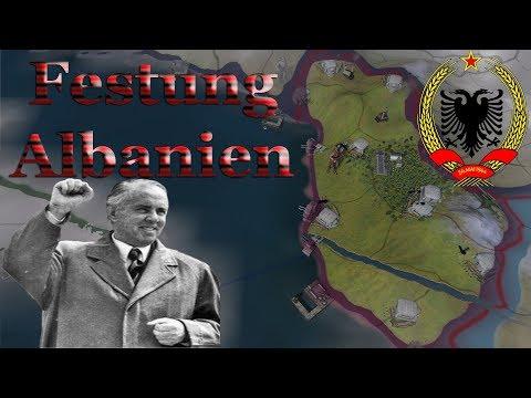 Hearts of Iron 4 Challenge: Surviving as Albania – Festung Albanien