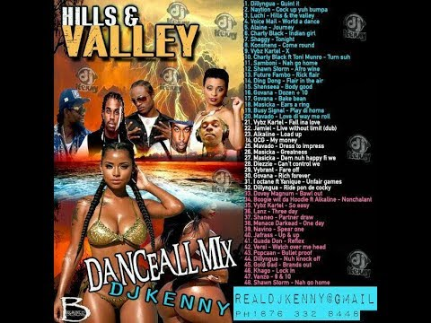 DJ KENNY HILLS & VALLEY DANCEHALL MIX APR 2018