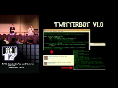 DEFCON 17: Social Zombies: Your Friends Want to Eat Your Brains