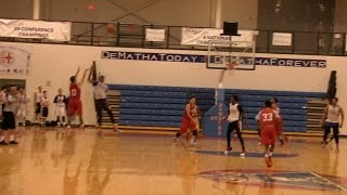 St. Albans Comes Back to beat North Point in BSN Summer League at DeMatha 6/18/2015 6 18 15