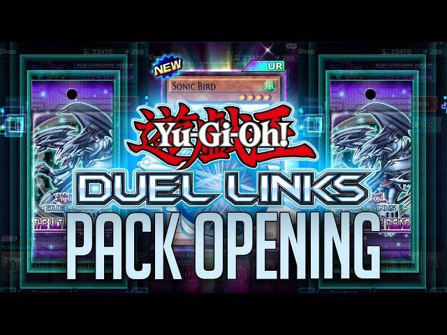 Super Pack Opening Yugi-oh Duel Link!!!