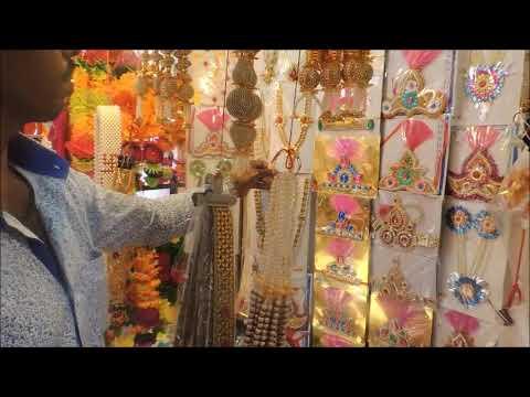 Ganpati decoration Shopping at Bhuleshwar Market Mumbai