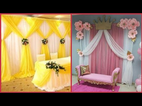 Beautiful background decoration ideas