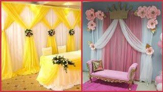 Beautiful Background Decoration Ideas