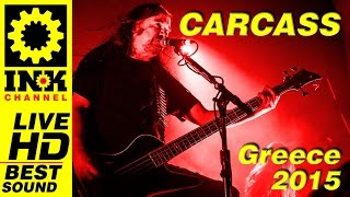 CARCASS - Full Concert - Greece 2015