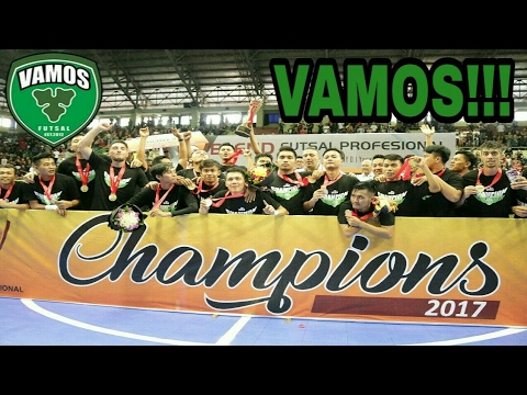 Detik-Detik VAMOS MATARAM FC CHAMPION OF INDONESIA PRO FUTSAL LEAGUE