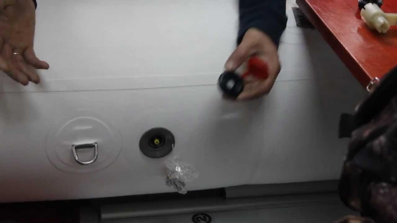 купить стравливающие клапана на пвх лодку