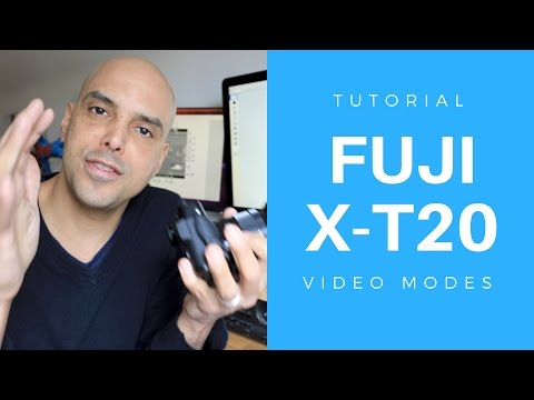 Fuji X-T20 Tutorial- How to shoot video on the Fuji xt20