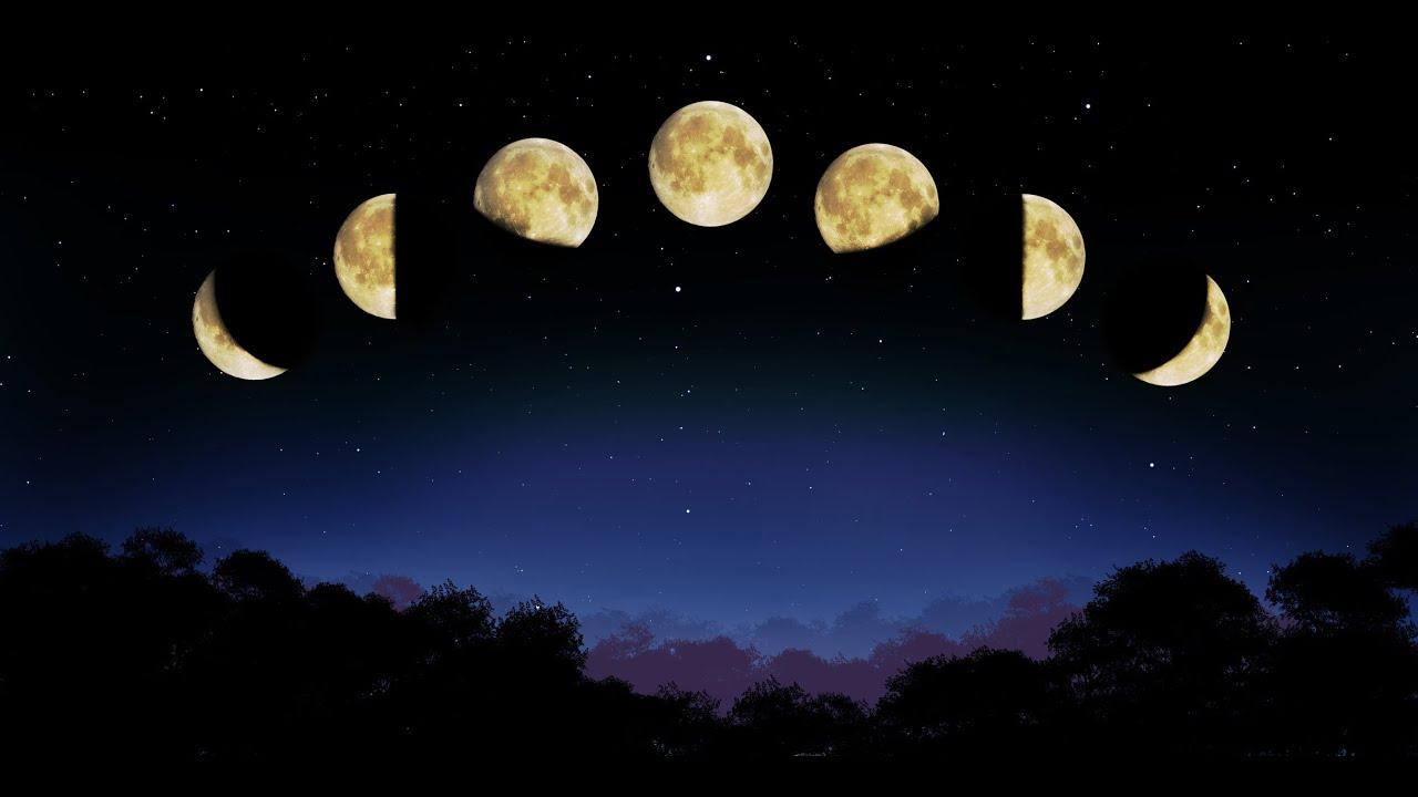 картинки луна месяц