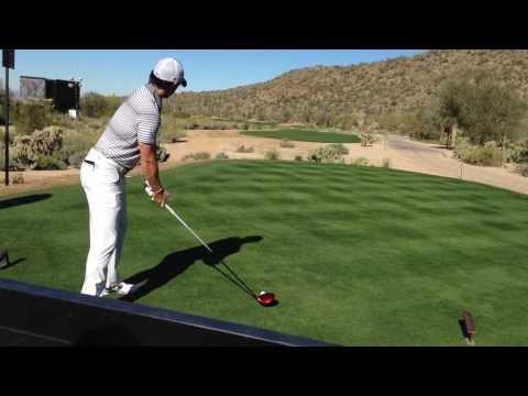 Rory McIlroy, WGC Practice Round, Dove Mountain Golf Course, Marana, AZ