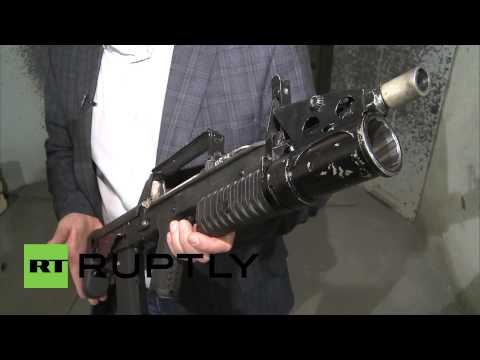 Russia: This ADS Amphibious assault rifle fires under WATER