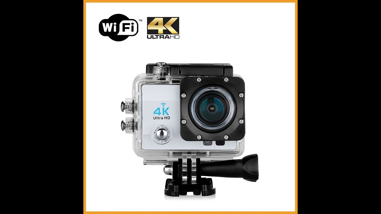 incredibile solo 50 euro action cam economica 4k test live. Black Bedroom Furniture Sets. Home Design Ideas