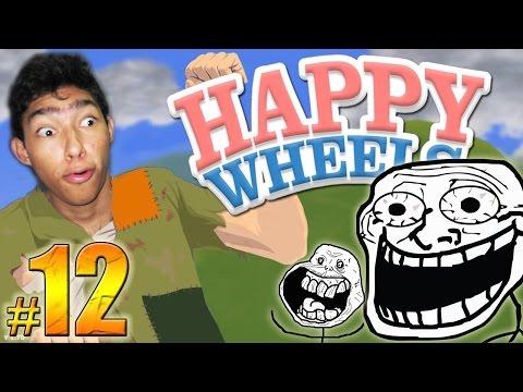 EL NIVEL MAS TROLL DEL MUNDO !! - Happy Wheels: Episodio 12
