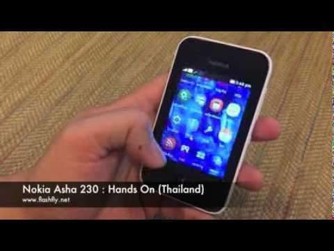 Nokia Asha 230 : Hands on (Thailand)