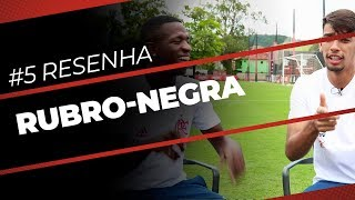 Resenha RN Wix.com   Vinicius Junior e Lucas Paquetá