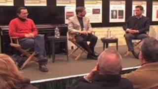 Jordan & Aimard: Offstage at Barnes & Noble (1 of 4)