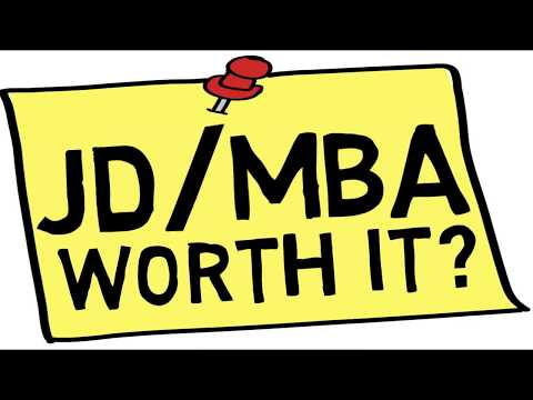 Is a Combined JD/MBA Worth it?
