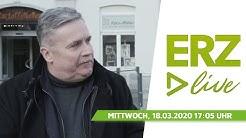 Interview mit Rolf Schmidt, Oberbürgermeister Stadt Annaberg-Buchholz zum Corona-Virus   ERZ LIVE