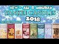 NEW - ALL 8 Yankee Candle - Christmas/Holiday 2018 Fragrances - Evaluations, Reviews, Haul