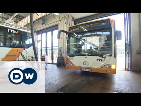 Getting Around Town by Electric Bus | Made in Germany