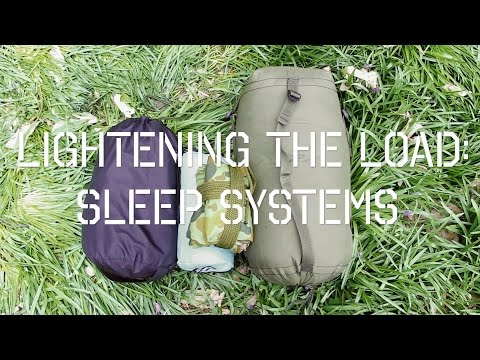 Lightening The Load Part 1 - Sleep Systems