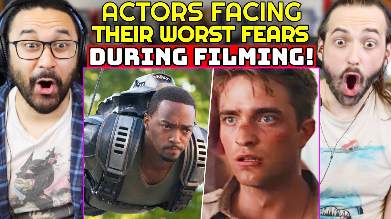 Actors Forced To Face THEIR WORST FEARS During Filming REACTION! (Robert Pattinson, Anthony Mackie)