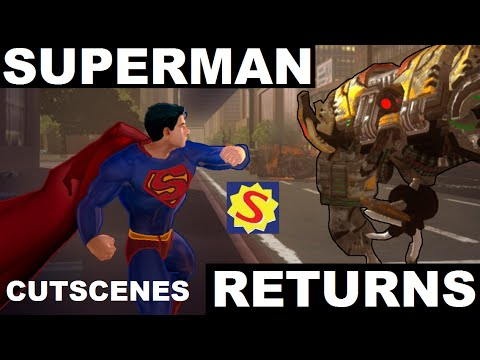 Superman Returns - Full Movie / All Cutscenes