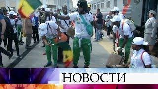 Большой путь проделали болельщики Японии и Сенегала, чтобы прибыть на игру в Екатеринбург.