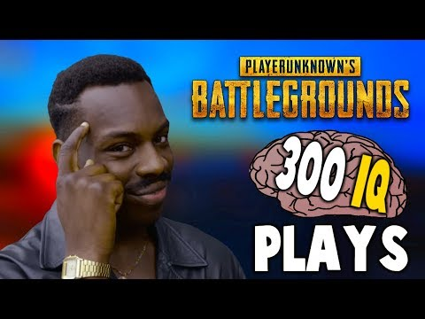 PUBG - WHEN PLAYERS HAVE 300 IQ (Genius Plays)