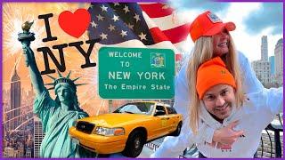 VLOG Мы В АМЕРИКЕ Нас ОБМАНУЛИ в такси Гуляем по НЬЮ ЙОРКУ