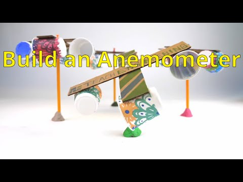 Build an Anemometer to Measure Wind Speed