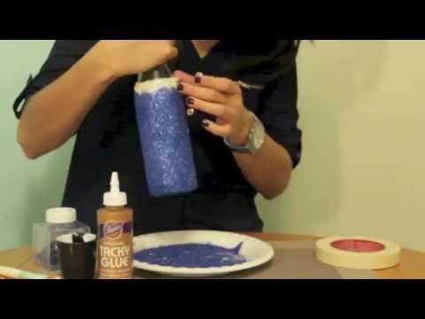 Decoracion para botellas de coquito youtube - Decoracion de botellas ...