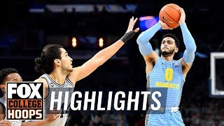 Markus Howard goes for 42 as Marquette wins battle over Georgetown | FOX COLLEGE HOOPS HIGHLIGHTS