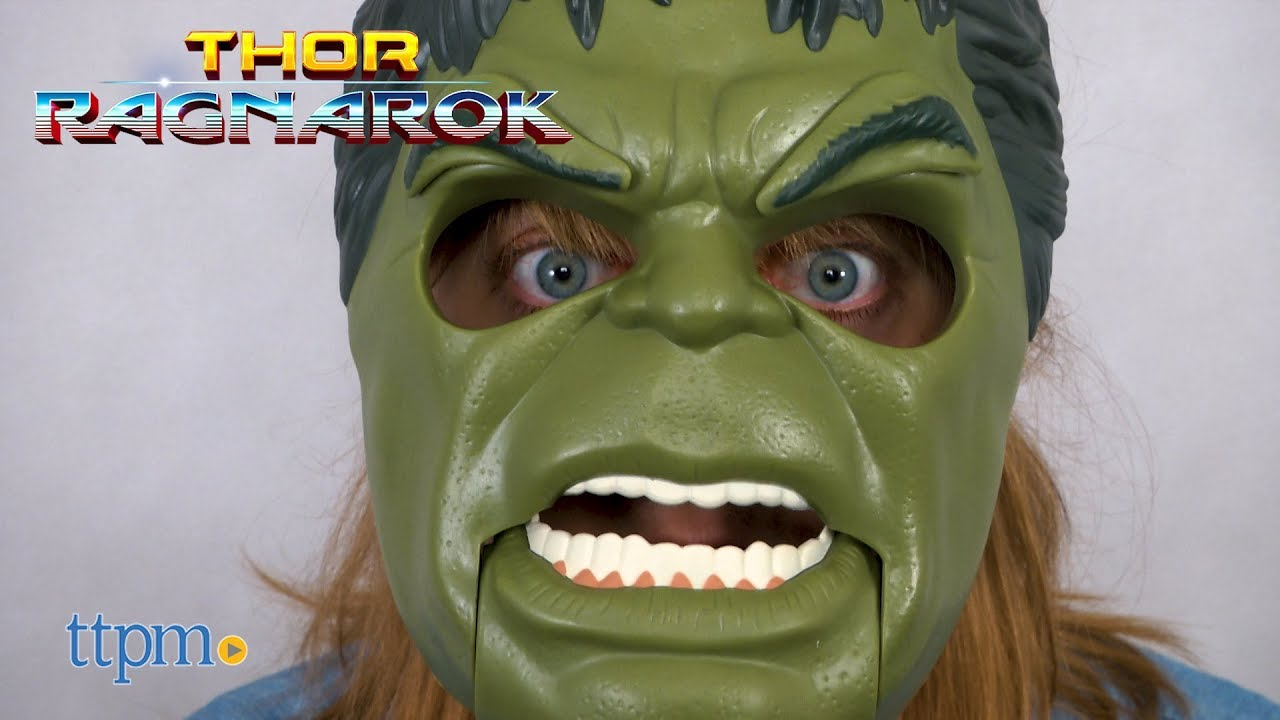 Thor Ragnarok Move Mouth Hulk Out Mask