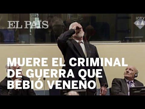 Un criminal de guerra se suicida en el tribunal   Internacional