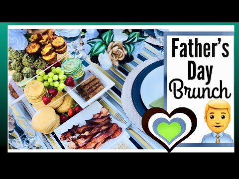 Fathers' Day Brunch & Tablescape