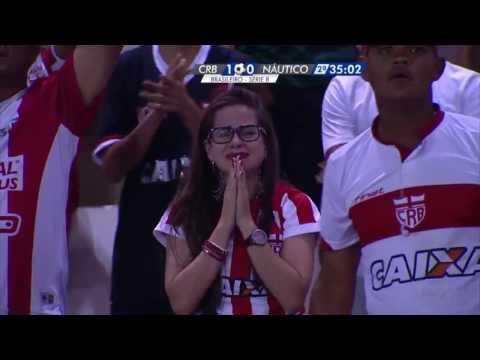 CRB 1 x 0 Náutico - Gol Matheus Galdezani Campeonato Brasileiro Série B 2016