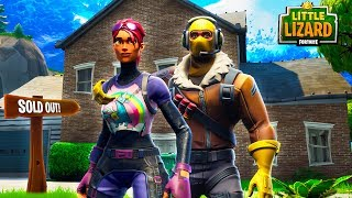 RAPTOR AND LITTLE KELLY BUY THEIR FIRST HOUSE - Fortnite Short Film