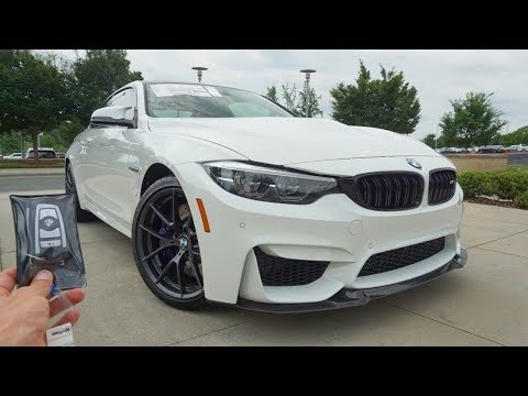 2020 BWW M4 CS: Start Up, Exhaust, Test Drive and Review