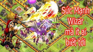 NMT | Clash of clans | Chay Wizard max hall 11 - Pháp sư thổi lửa như đạn bắn