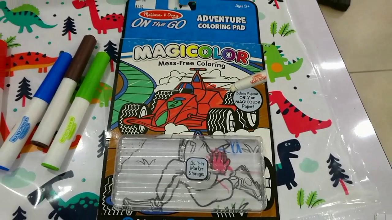 Melissa & Doug On the Go Magicolor Coloring Pad - Farm Animals