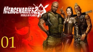Прохождение Mercenaries 2: World In Flames [60fps] #1 Пуля в заднице